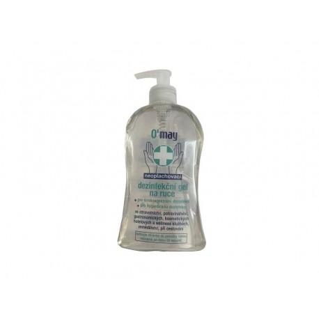 Ómay dezinfekční gel na ruce s dávkovačem 500ml