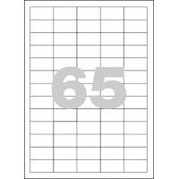 Etikety Spoko 38x21,2mm 65ks x 100 listů A4