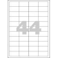 Etikety Spoko 48,5x25,4mm 44ks x 100 listů A4