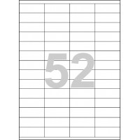 Etikety Spoko 52,5x21,2mm 52ks x 100 listů A4