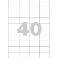 Etikety Spoko 52,5x29,7mm 40ks x 100 listů A4