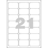 Etikety Spoko 63,5x38,1mm 21ks x 100 listů A4