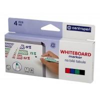 Popisovač stíratelný na bílé tabule 8559 4 barvy