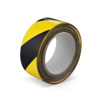 Lepicí páska s tkaninou 50mm 33m žluto-černá 67205