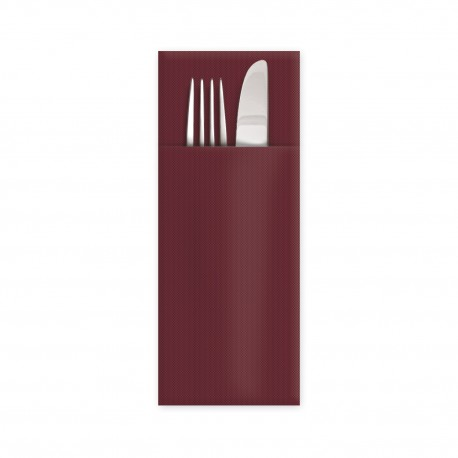 "Ubrousky Premium ""CutleryStar"" 32x40cm 1/8 bordó/50ks 89008"