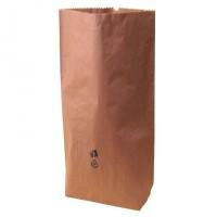 Papírový pytel 3-vrstvý 55x110+18cm hnědý