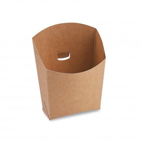 Hnědá papírová bistro kapsa 150g/50ks 48515