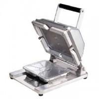 Stroj pro zavírání hliníkových menu mís 79699