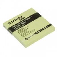Samolepicí bloček Donau 76x76mm 100 listů žlutý