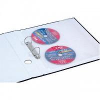 Závěsný obal hladký Donau A4 160my na 4 CD/DVD