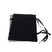 Desky s tkanicí A4 černé