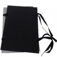 Desky s tkanicí A3 černé