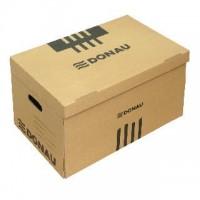 Archivační krabice 2-dílná pro boxy Donau hnědá
