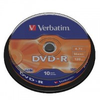 DVD-R verbatim 4,7GB/10ks