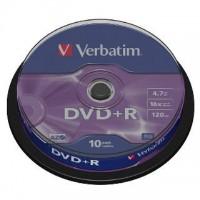 DVD+R verbatim 4,7GB/10ks