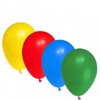 """Balónky nafukovací """"S"""" mix barev/100ks 52099"""