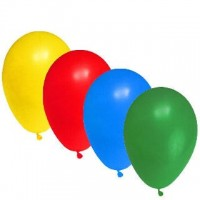 """Balónky nafukovací """"L"""" mix barev/100ks 54099"""
