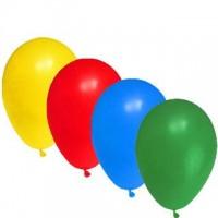 """Balónky nafukovací """"L"""" mix barev/10ks 54199"""
