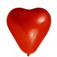 Balónky nafukovací Srdce/100ks 58001