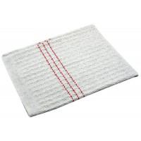 Hadr na podlahu tkaný 60x70cm bílý