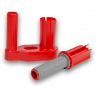 Plastový ruční odvinovač průtažné fólie