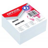 Poznámkový papír-kostka Office Products nelepená 8,5x8,5x4cm