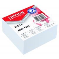 Poznámkový blok-kostka Office Products lepený 8,5x8,5x4cm
