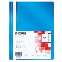 Desky A4 s rychlovazačem Office Products modré/25ks
