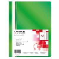 Desky A4 s rychlovazačem Office Products zelené/25ks