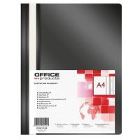 Desky A4 s rychlovazačem Office Products černé/25ks