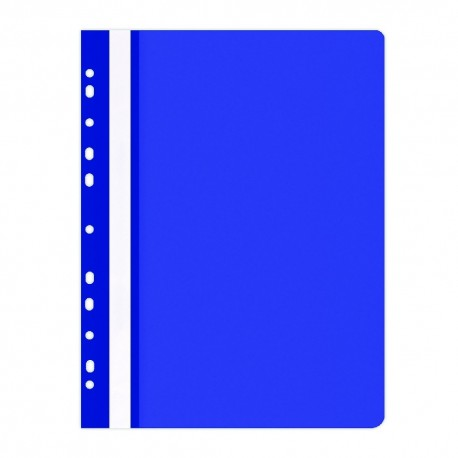 Závěsné desky A4 s rychlovazačem Office Products modré