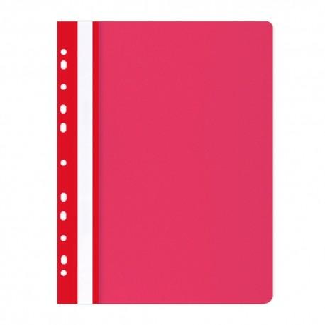 Závěsné desky A4 s rychlovazačem Office Products červené