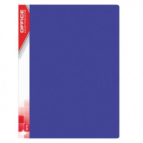Katalogová kniha A4 Office Products 10 kapes modrá