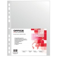 "Prospektové obaly Office Products A4 ""U"" 40my/100ks"