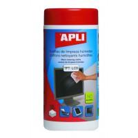 Čisticí kapesníky Apli na LCD/TFT/100ks