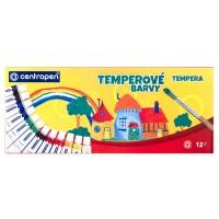 Temperové barvy 9550 12 barev