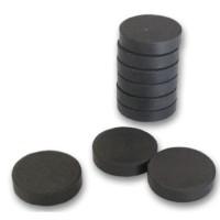 Magnety černé 26mm/10ks