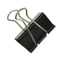 Kancelářské klipy Office Products 41mm černé/12ks