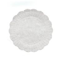 Rozetky bílé 28cm/500ks 72428
