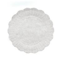 Rozetky bílé 30cm/500ks 72431
