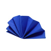 Ubrousky DekoStar 40x40cm tmavě modré/40ks 88003