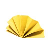 Ubrousky DekoStar 40x40cm žluté/40ks 88005