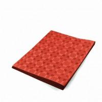 Ubrus papírový 180x120cm červený 70051