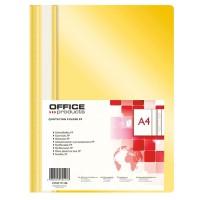 Desky A4 s rychlovazačem Office Products  žluté/25ks