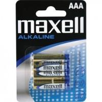 Alkalická baterie Maxell mikrotužka/4ks