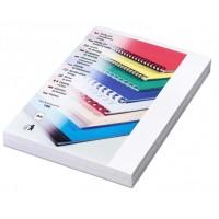 Kartonové desky pro vazbu A4 bílá kůže / 100ks