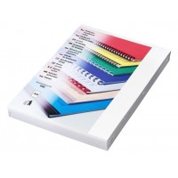 Kartonové desky pro vazbu A4 bílá lesklá /100ks