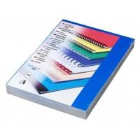 Kartonové desky pro vazbu A4 modrá lesklá /100ks