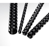 Plastové hřbety A4 pro vazbu 32mm černé/50ks