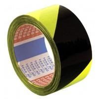 Lepicí páska Tesa 50mm 66m žluto-černá